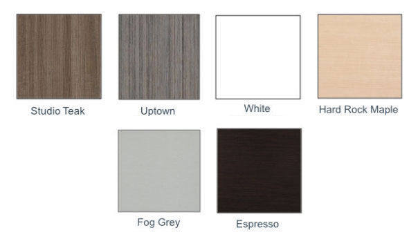 laminate top color options