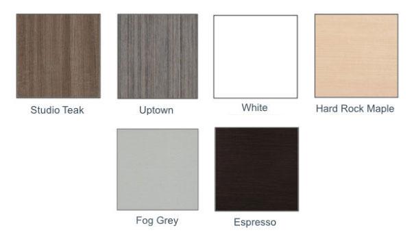 laminate top color options